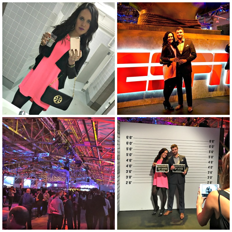 ESPN the Party in San Francisco by A Lady Goes West