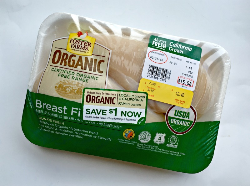Organic Foster Farms chicken giveaway by A Lady Goes West
