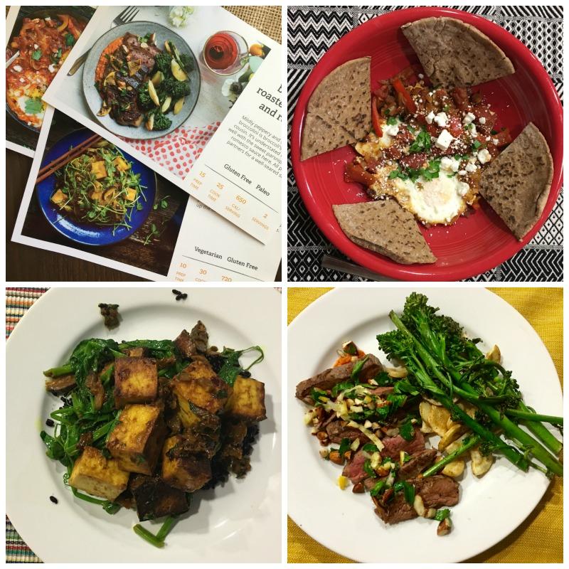 Sun Basket meals via A Lady Goes West blog