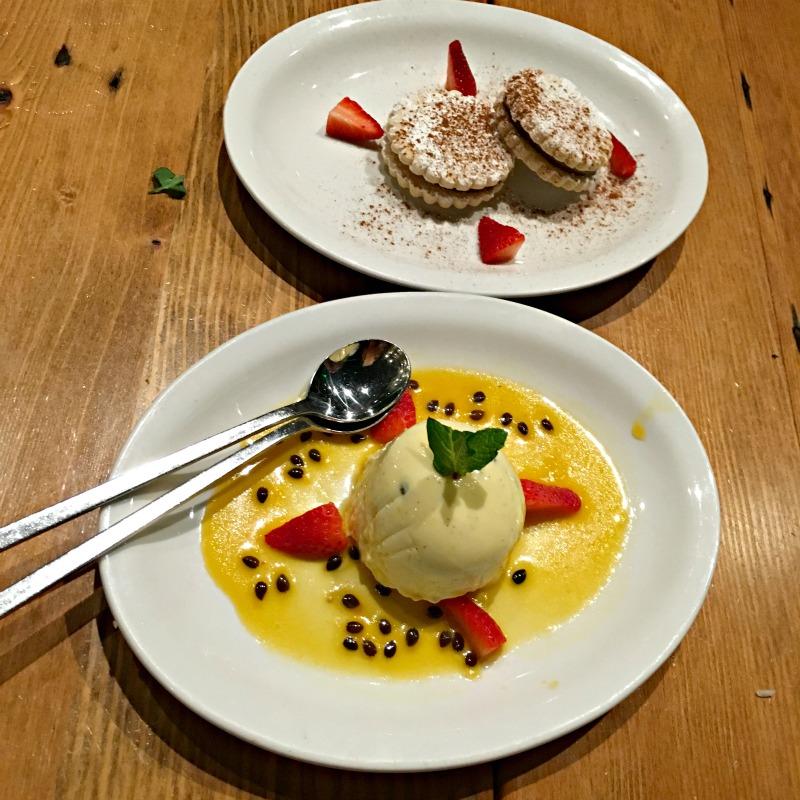 Dessert at Parada via A Lady Goes West