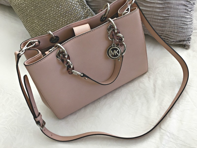 c96a840b6b Michael Kors pink purse by A Lady Goes West
