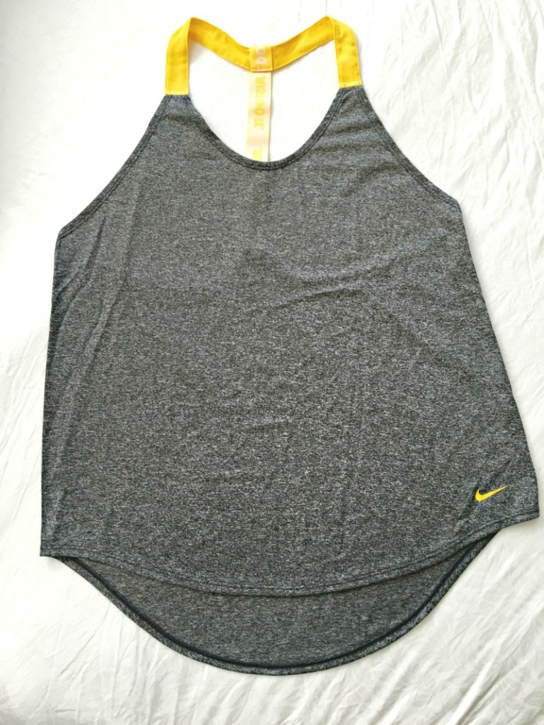 Nike workout tank by A Lady Goes West