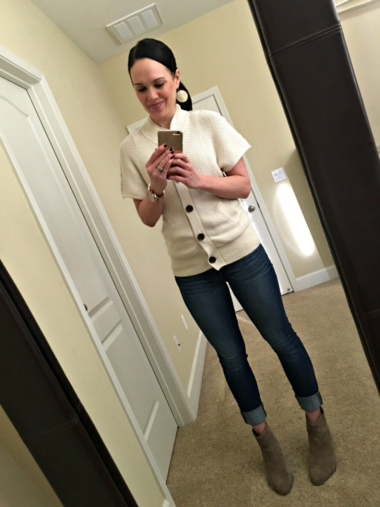 What Ashley wore to work 4
