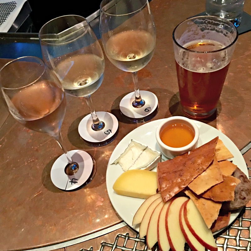 Wine and cheese at Va de Vi by A Lady Goes West