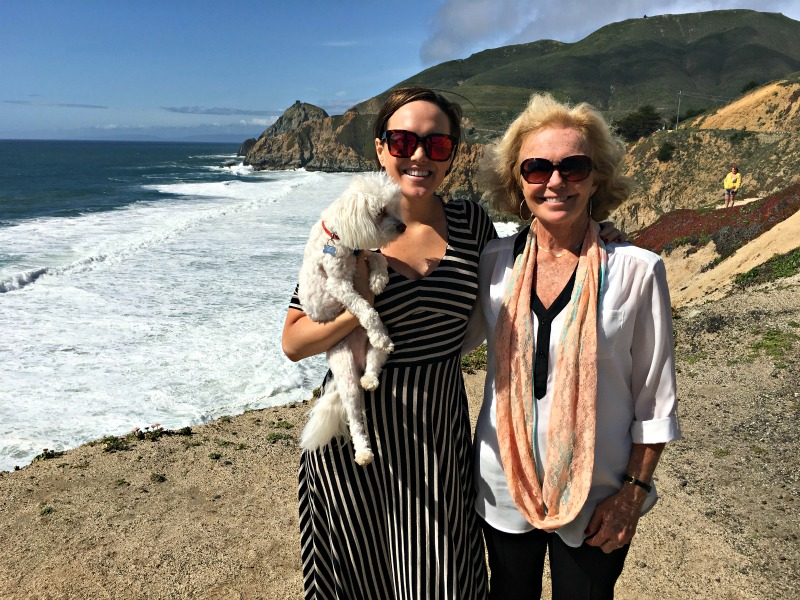Ashley and Ann in Half Moon Bay