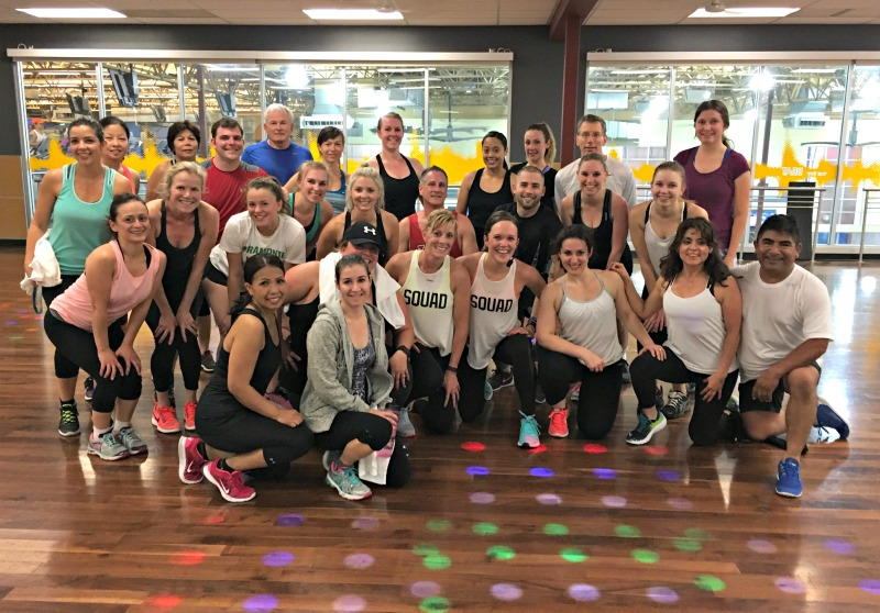 BODYATTACK class after launch in Walnut Creek by A Lady Goes West