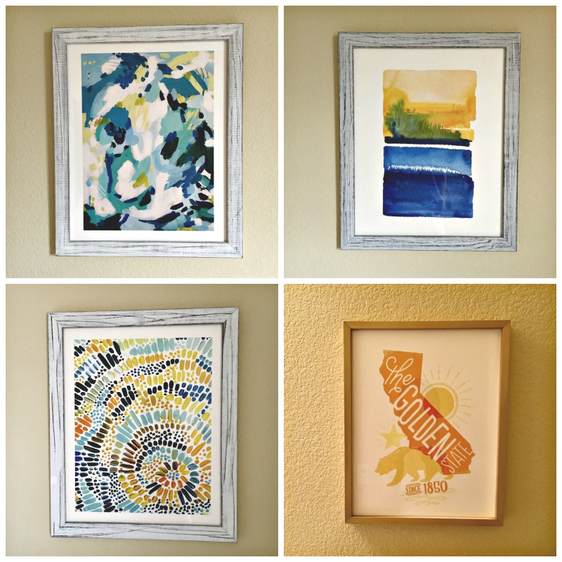 Beautiful Minted artwork for the guest room by A Lady Goes West