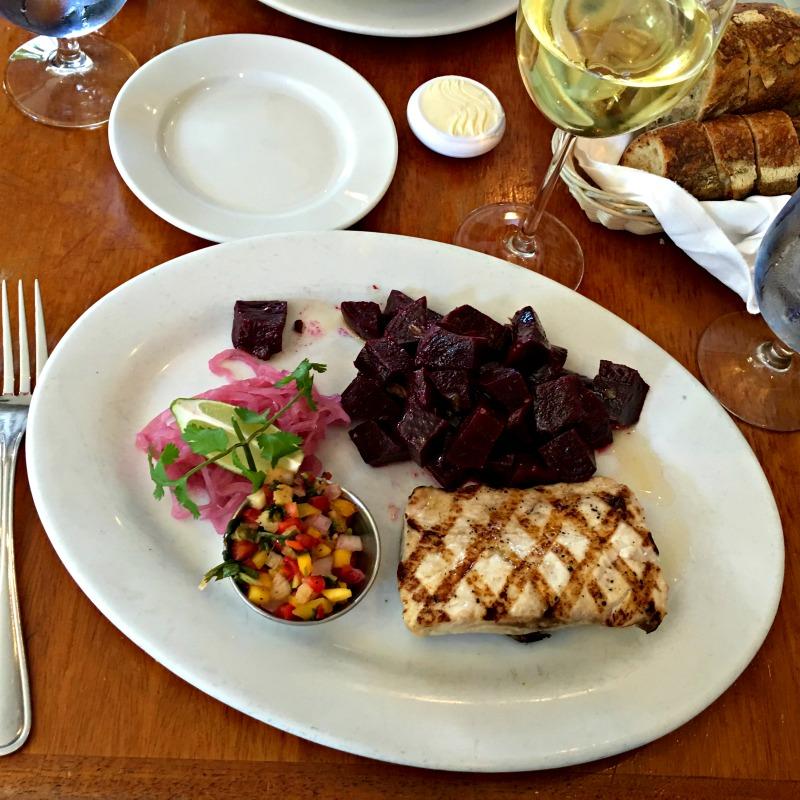 Lunch at Walnut Creek Yacht Club by A Lady Goes West