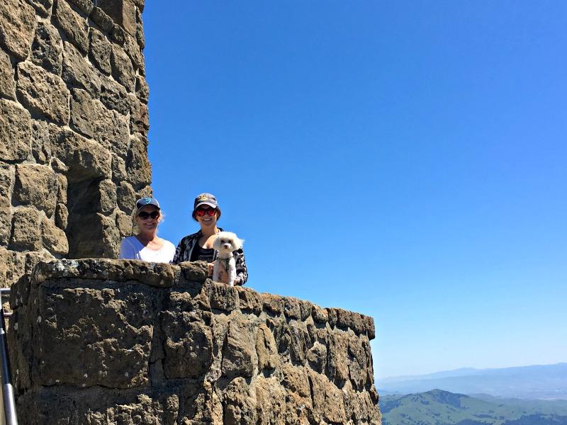 Mom visit - Mt Diablo with Rudy