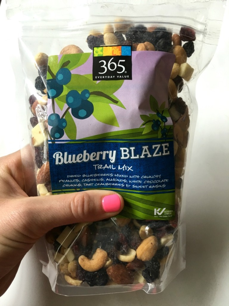 Blueberry Blaze Trail Mix by A Lady Goes West