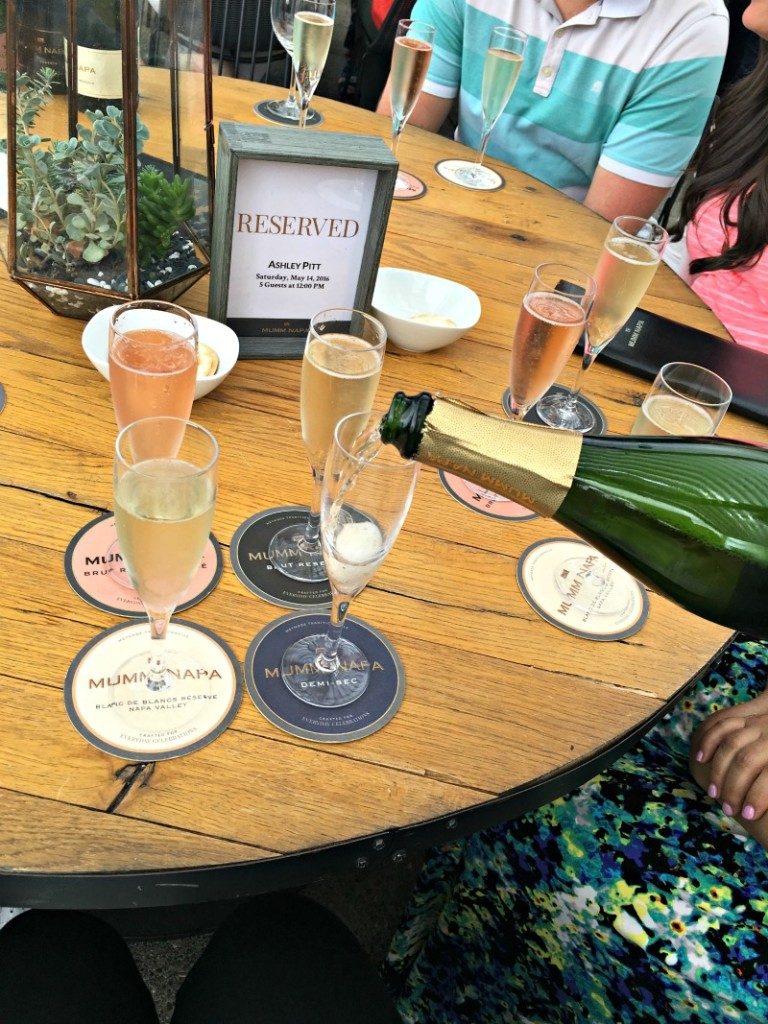 Bubbly at Mumm Napa by A Lady Goes West