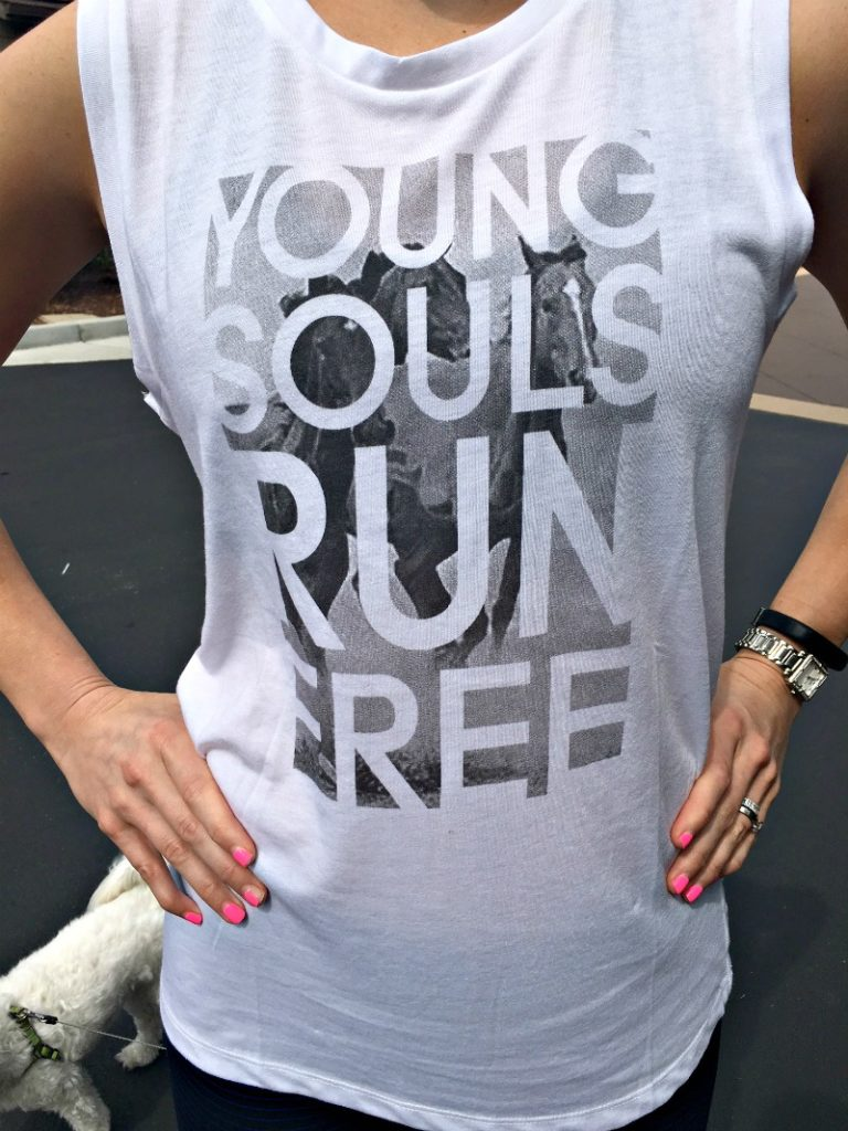 Lucy - Young Souls Run Free tank by A Lady Goes West