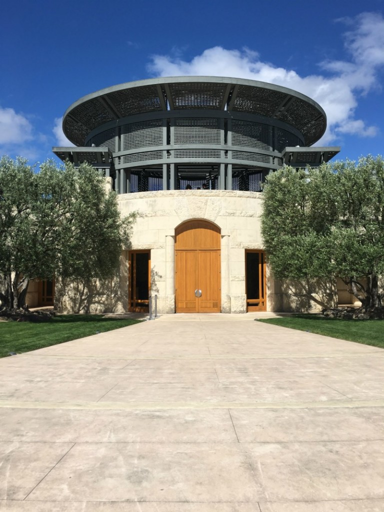 Opus One winery by A Lady Goes West