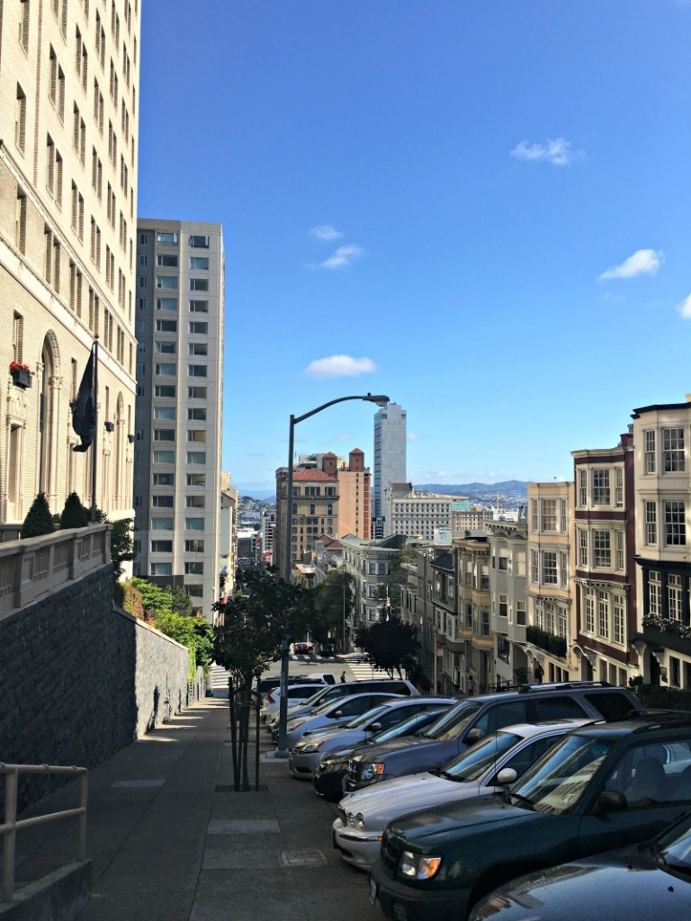 View from the top of Nob Hill by A Lady Goes West