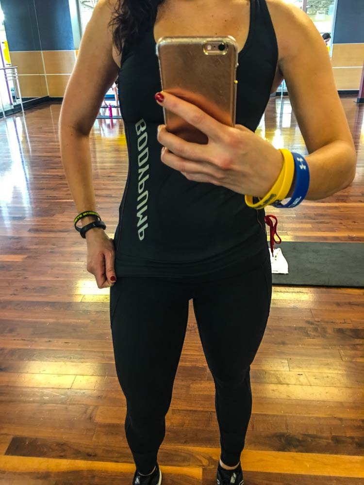 BODYPUMP outfit by A Lady Goes West