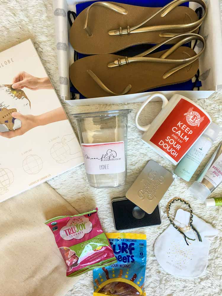 The Blog Exchange picnic gift bag by A Lady Goes West favorites