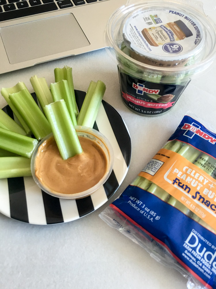 Habits of a healthy gal and Dandy Celery snacks by A Lady Goes West