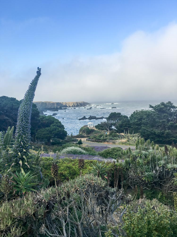 Pacific Ocean view at Heritage House by A Lady Goes West