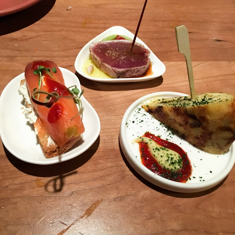 Tapas at Teleferic Barcelona by A Lady Goes West