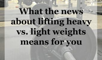 What the news about lifting heavy vs. light weights means for you by A Lady Goes West
