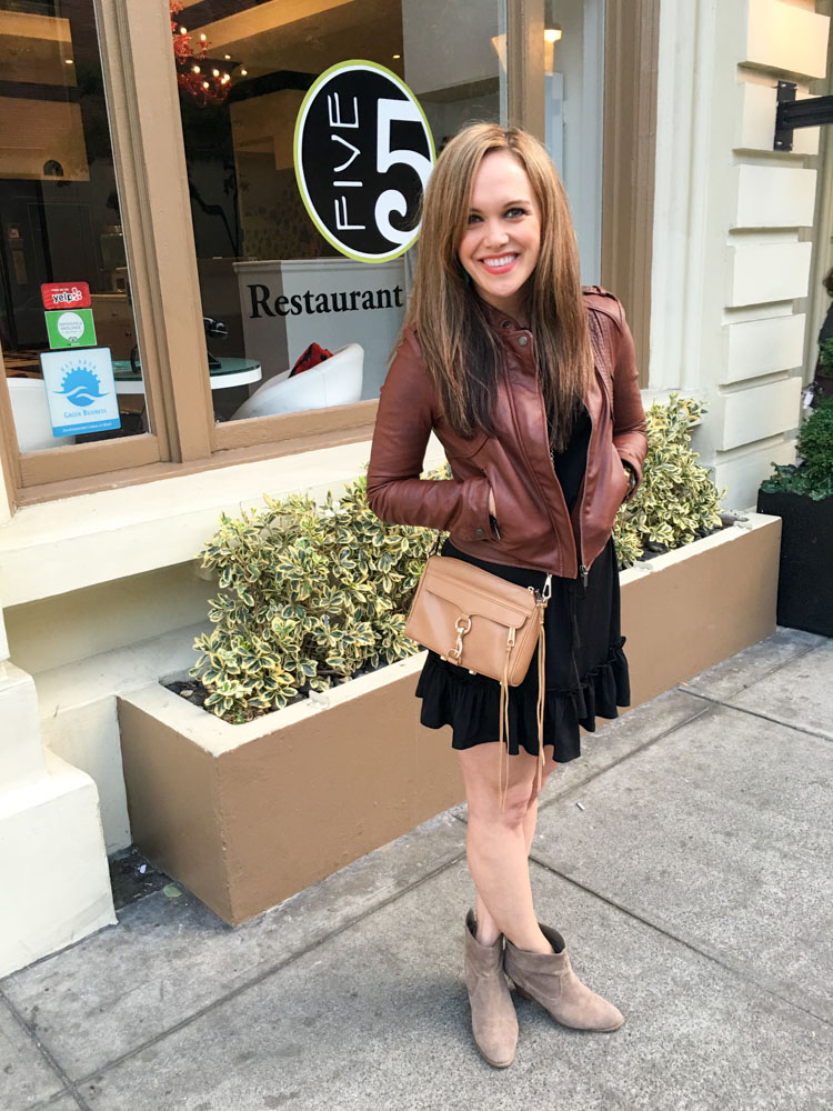 Ashley at FIVE restaurant in Berkeley by A Lady Goes West