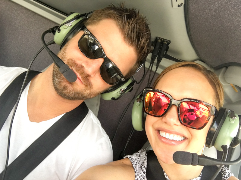Helicopter riding in Vegas by A Lady Goes West