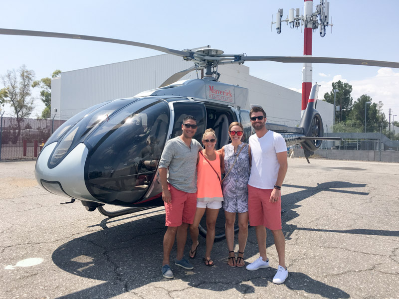 Helicopter riding with Maverick Helicopters in Vegas by A Lady Goes West