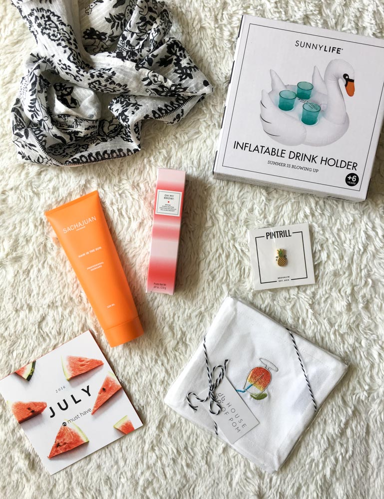 POPSUGAR July Must Have Box by A Lady Goes West
