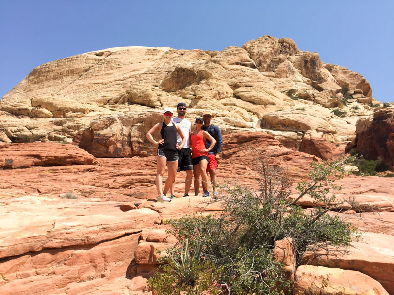 Red rock hiking in Vegas by A Lady Goes West