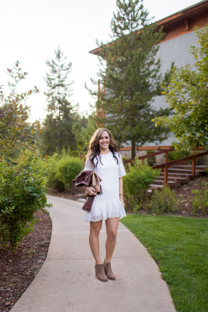 Wearing white in Lake Tahoe by A Lady Goes West