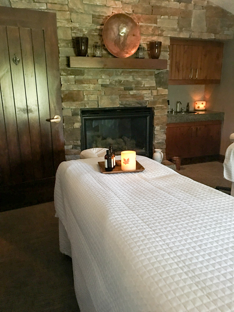 Stillwater massage table by A Lady Goes West