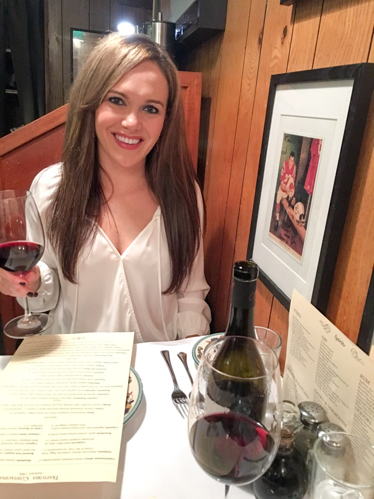 Ashley at Trattoria Contadina by A Lady Goes West