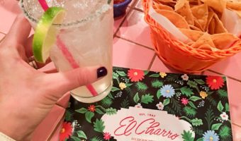 Dinner at El Charro by A Lady Goes West