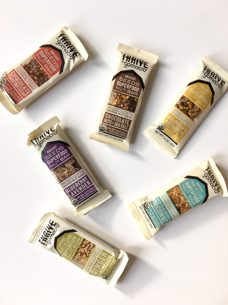 GoMacro Thrive Bars by A Lady Goes West