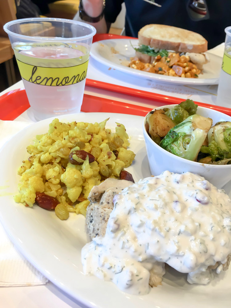 Lunch at Lemonade in Walnut Creek