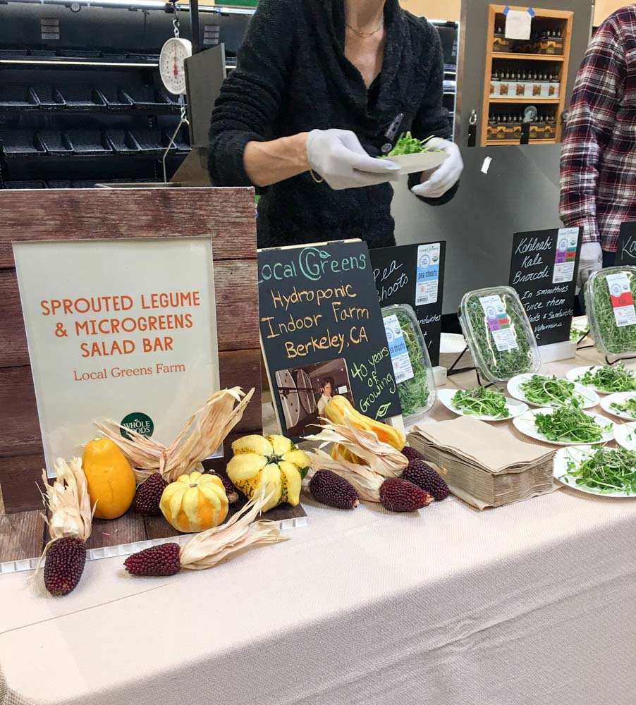 Whole Foods food sampling in Walnut Creek by A Lady Goes West