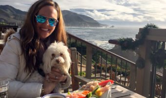 Ashley and Rudy in Big Sur by A Lady Goes West