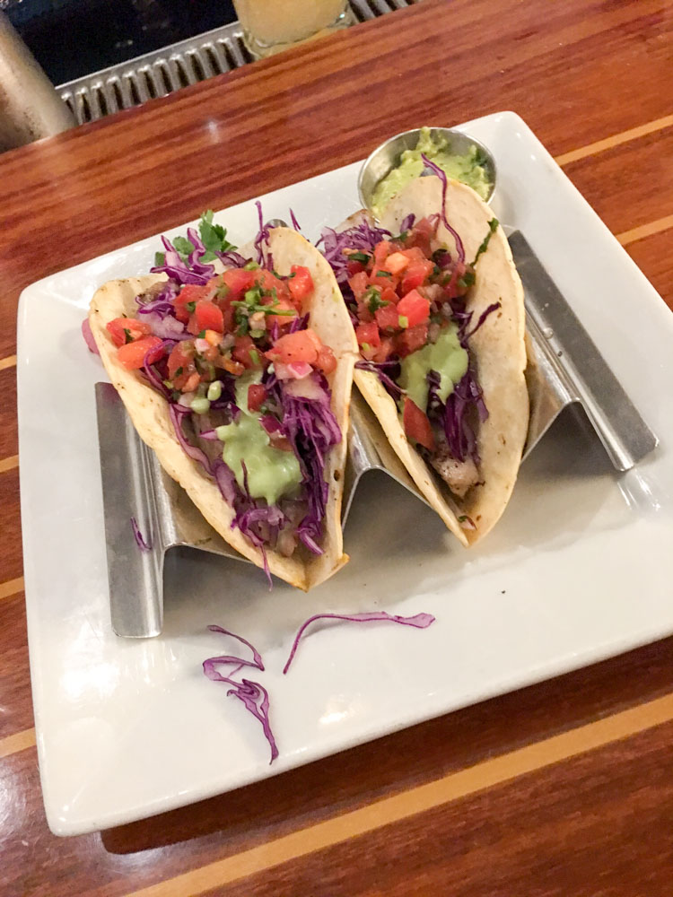 Fish tacos at Walnut Creek Yacht Club by A Lady Goes West