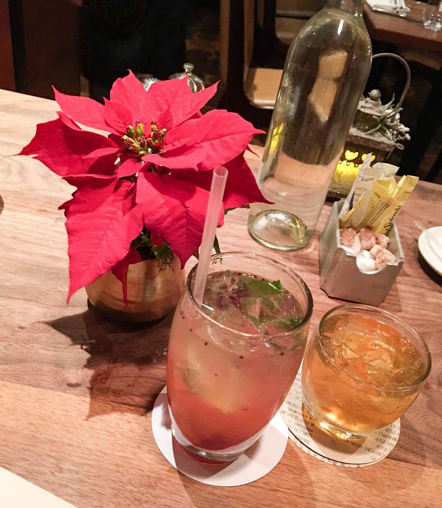 Drinks at Bluestem Brasserie by A Lady Goes West