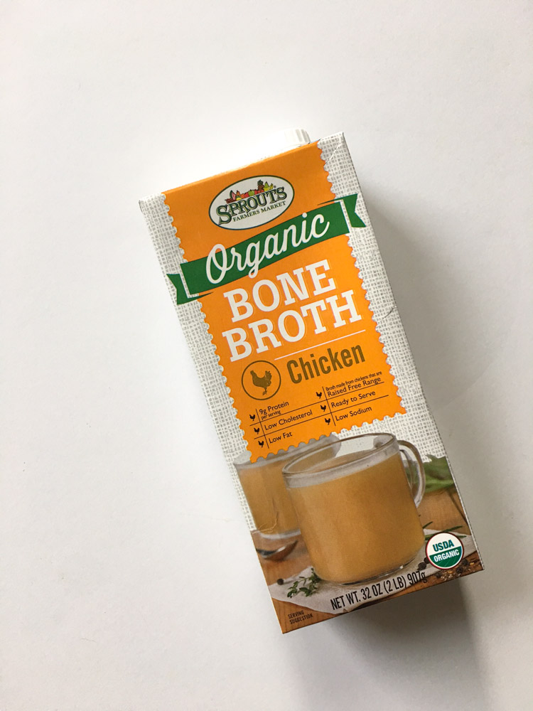 Organic bone broth by A Lady Goes West