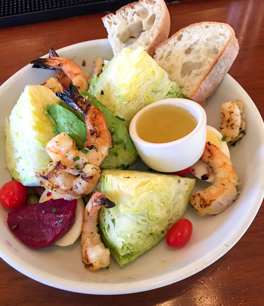 Prawn Louis salad at Chow by A Lady Goes West