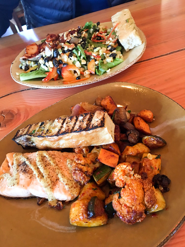 Urban Plate salmon lunch by A Lady Goes West