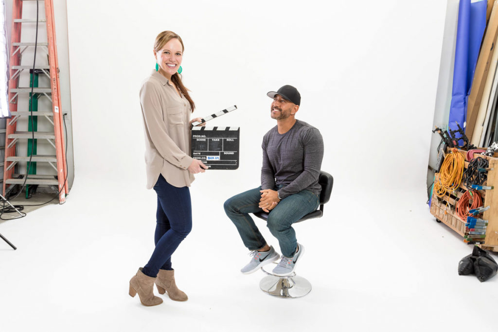 Ashley and Shawn Stevenson on 24Life set by A Lady Goes West