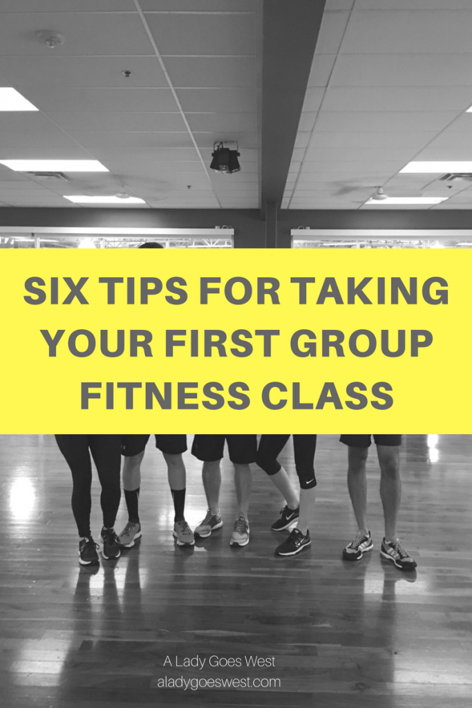 Six tips for taking your first group fitness class by A Lady Goes West