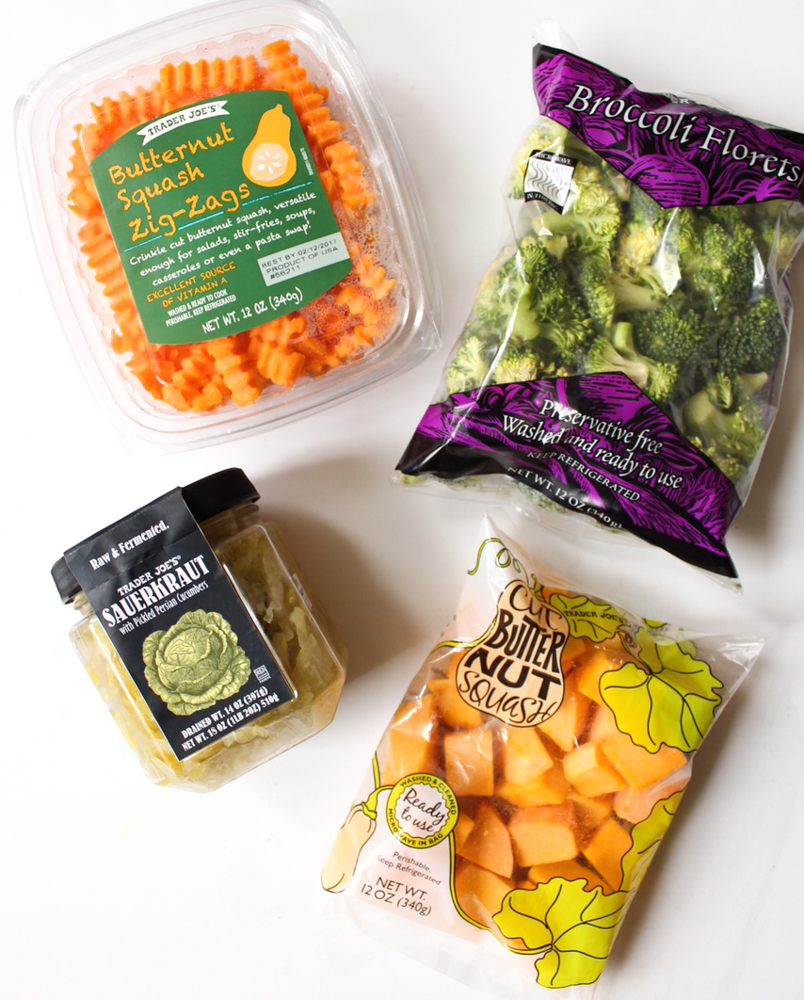 Favorite veggies from Trader Joe's by A Lady Goes West