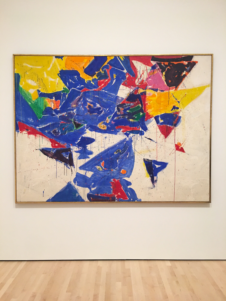 San Francisco MOMA art by A Lady Goes West
