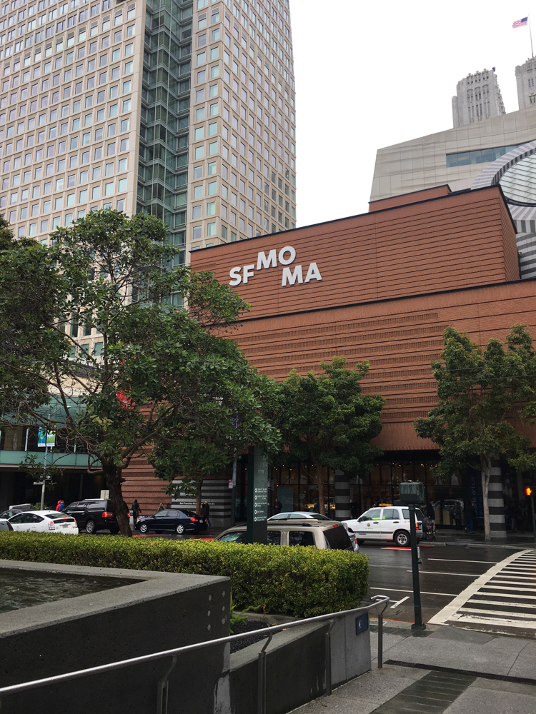 San Francisco MOMA by A Lady Goes West