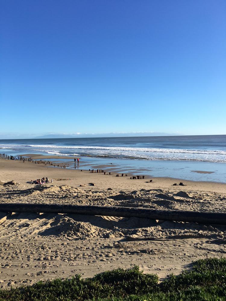 Santa Cruz beach by A Lady Goes West