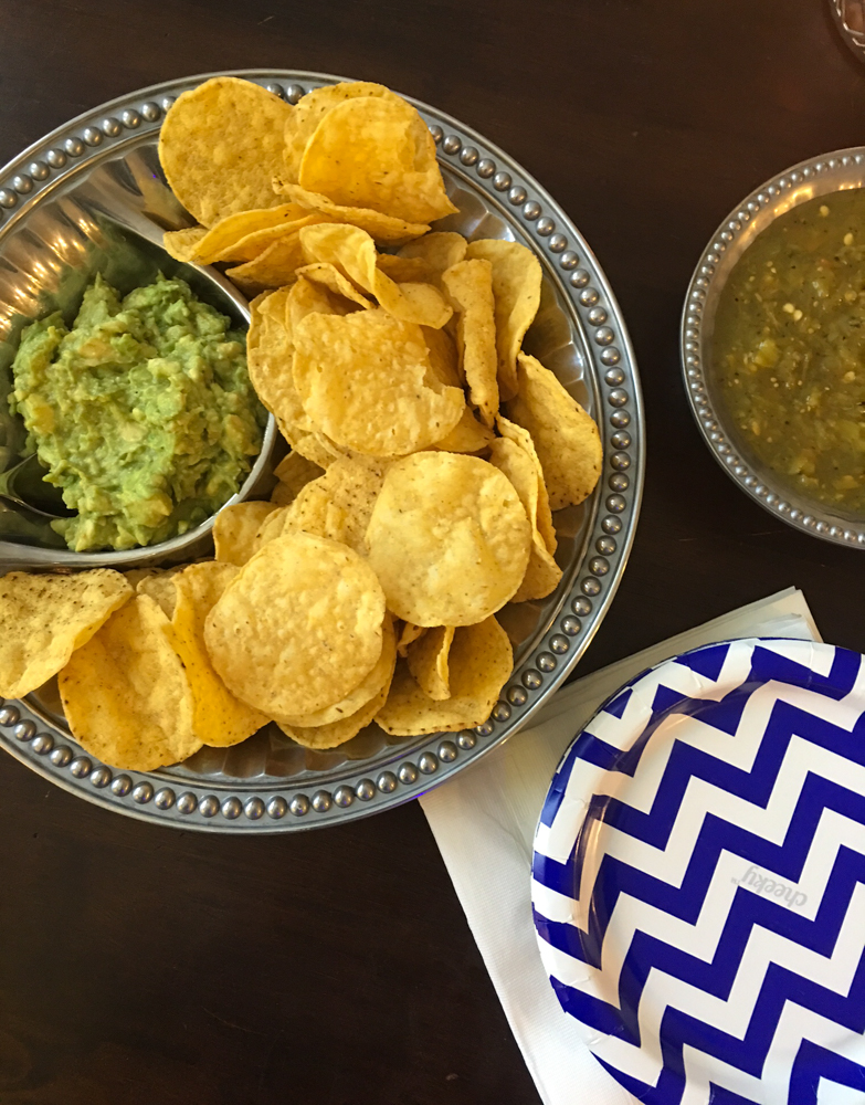 Chips and guac by A Lady Goes West