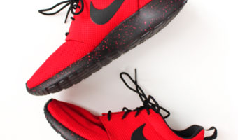 Favorite red Nikes by A Lady Goes West